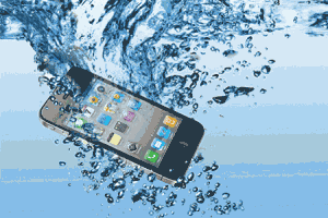 telefoon-te-water