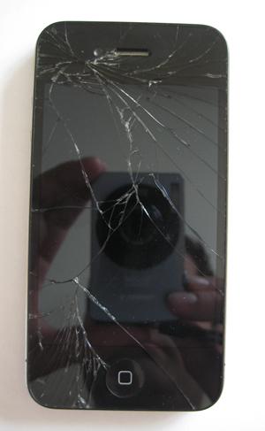 Apple iphone 4 scherm voor reparatie