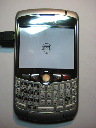 Blackberry software probleem