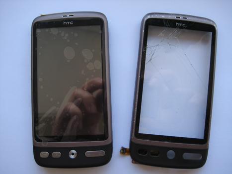 Htc desire touchscreen reparatie