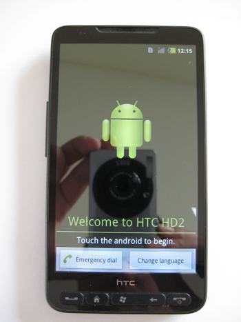 Htc HD2 android installatie