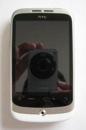 HTC wildfire scherm na reparatie