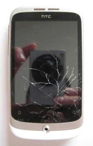 HTC wildfire scherm voor reparatie