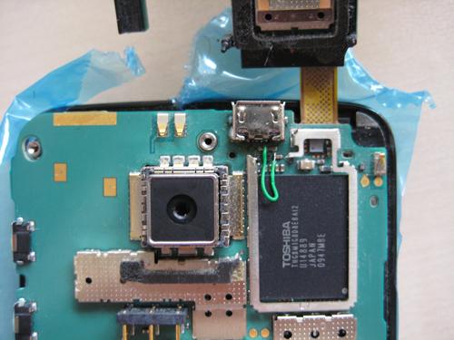 Nokia N900 na de reparatie