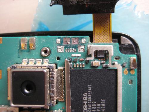 Nokia N900 voor de reparatie