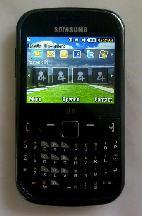 Reparatie van de samsung s3350 chat 335 beeldscherm LCD
